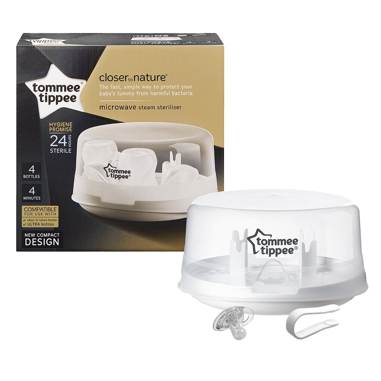 tommee tippee closer to nature steam steriliser instructions